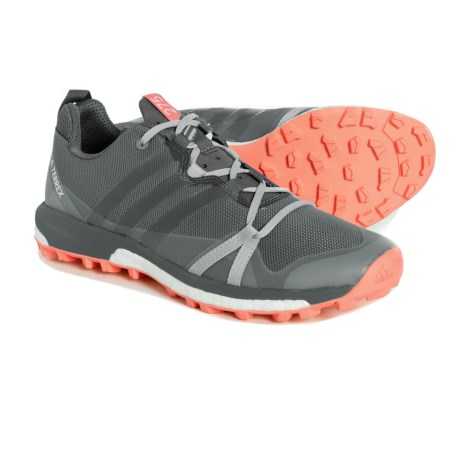 timeless design 51517 7d37b adidas Terrex Agravic Trail Running Shoes (For Women) in Grey ThreeGrey  Four