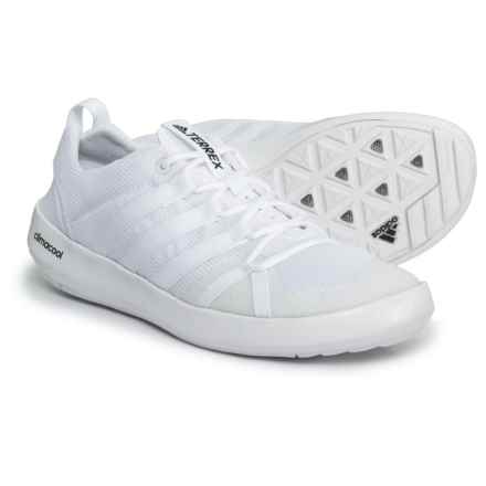adidas Terrex ClimaCool® Boat Shoes (For Men) in White/White/Black - Closeouts