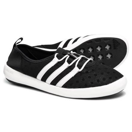 de1bdbe9493c adidas Terrex ClimaCool® Boat Sleek Water Shoes (For Women) in Black Chalk