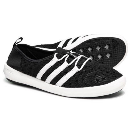 cd80280ca950 adidas Terrex ClimaCool® Boat Sleek Water Shoes (For Women) in Black Chalk
