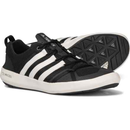 adidas Terrex ClimaCool® Boat Water Shoes (For Men) in Black/Chalk White/Black
