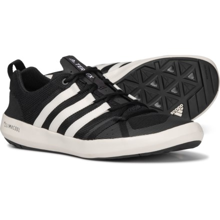 sale retailer ee3b0 9c453 adidas Terrex ClimaCool® Boat Water Shoes (For Men) in Black Chalk White