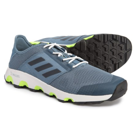 adidas Terrex ClimaCool® Voyager Shoes (For Men) in Raw Steel Black  06ca08222ad