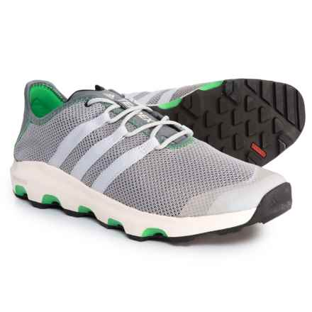 adidas Terrex ClimaCool® Voyager Water Shoes (For Men) in Clear Onix/Clear Grey/Energy Green - Closeouts