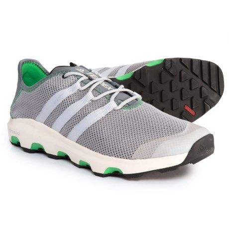 adidas Terrex ClimaCool® Voyager Water Shoes (For Men) in Clear Onix/Clear Grey/Energy Green