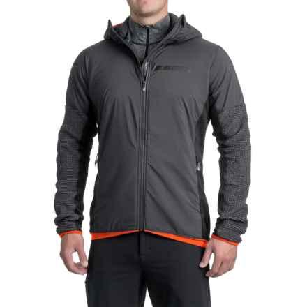 adidas Terrex ClimaHeat® Techrock Hooded Fleece Jacket (For Men) in Dark Grey - Closeouts