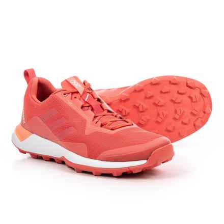 adidas Terrex CMTK Trail Running Shoes (For Women) in Trace Scarlet/White/Chalk Coral - Closeouts