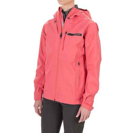 adidas Terrex Fast Gore-Tex® Active Shell Jacket - Waterproof (For Women) in Super Blush - Closeouts