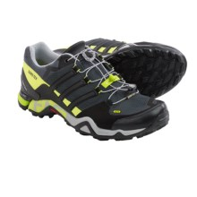 adidas Terrex Fast R Gore-Tex® Hiking Shoes - Waterproof (For Men) in Dark Grey/Black/Semi Solar Yellow - Closeouts