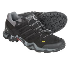adidas Terrex Fast R Trail Running Shoes (For Men) in Black/Vista Grey/White - Closeouts