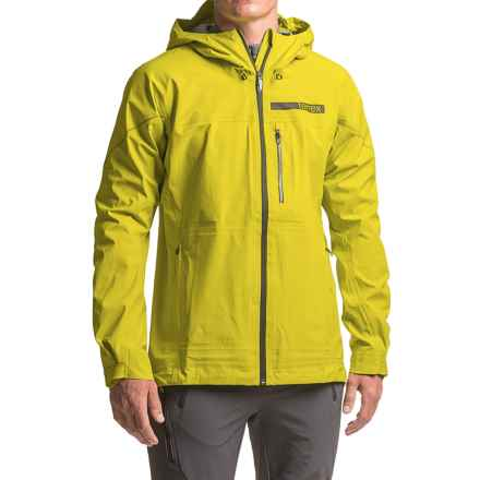 adidas Terrex Fastr 3 Gore-Tex® Rain Jacket - Waterproof (For Men) in Unity Lime - Closeouts