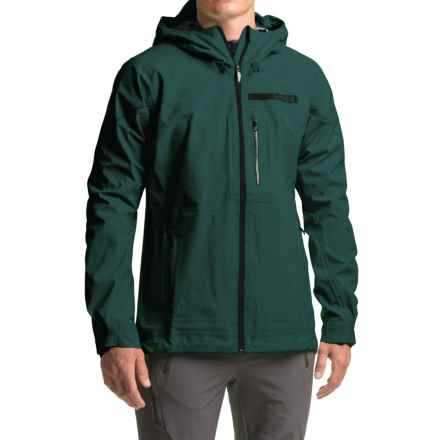 adidas Terrex Fastr 3 Gore-Tex® Rain Jacket - Waterproof (For Men) in Utility Green - Closeouts