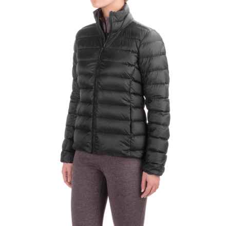 adidas Terrex Light Down Jacket (For Women) in Black/Utility Black - Closeouts