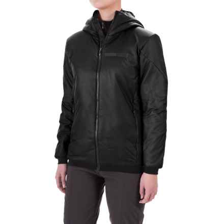 adidas Terrex Ndosphere 2 Flex PrimaLoft® Hooded Jacket - Insulated (For Women) in Black - Closeouts