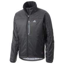 Adidas Terrex PrimaLoft® Jacket - Insulated (For Men) in Black - Closeouts