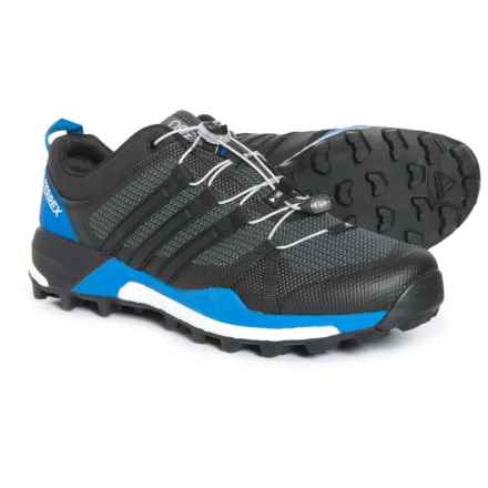 adidas Terrex Skychaser Trail Running Shoes (For Men) in Black/Black/Carbon - Closeouts