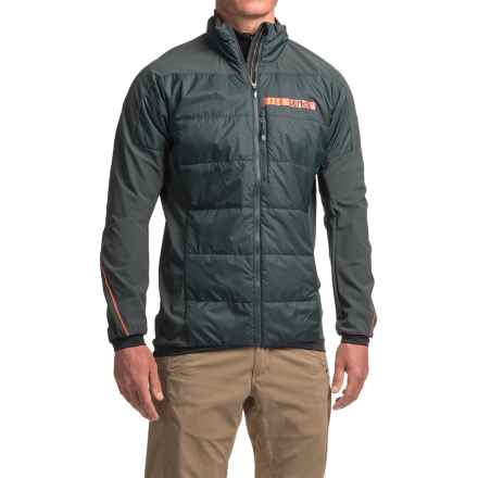 adidas Terrex Skyclimb J2 PrimaLoft® Jacket - UPF 50+, Insulated (For Men) in Dark Grey - Closeouts