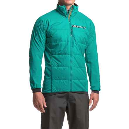 adidas Terrex Skyclimb J2 PrimaLoft® Jacket - UPF 50+, Insulated (For Men) in Eqt Green - Closeouts