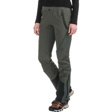adidas Terrex Skyclimb Pants (For Women) in Utility Ivy - Closeouts