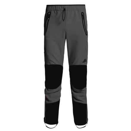 adidas Terrex Skyclimb Pants - Soft Shell (For Men) in Utility Black - Closeouts