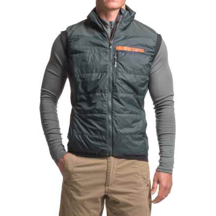 adidas Terrex Skyclimb V2 PrimaLoft® Vest - UPF 50+, Insulated (For Men) in Dark Grey - Closeouts