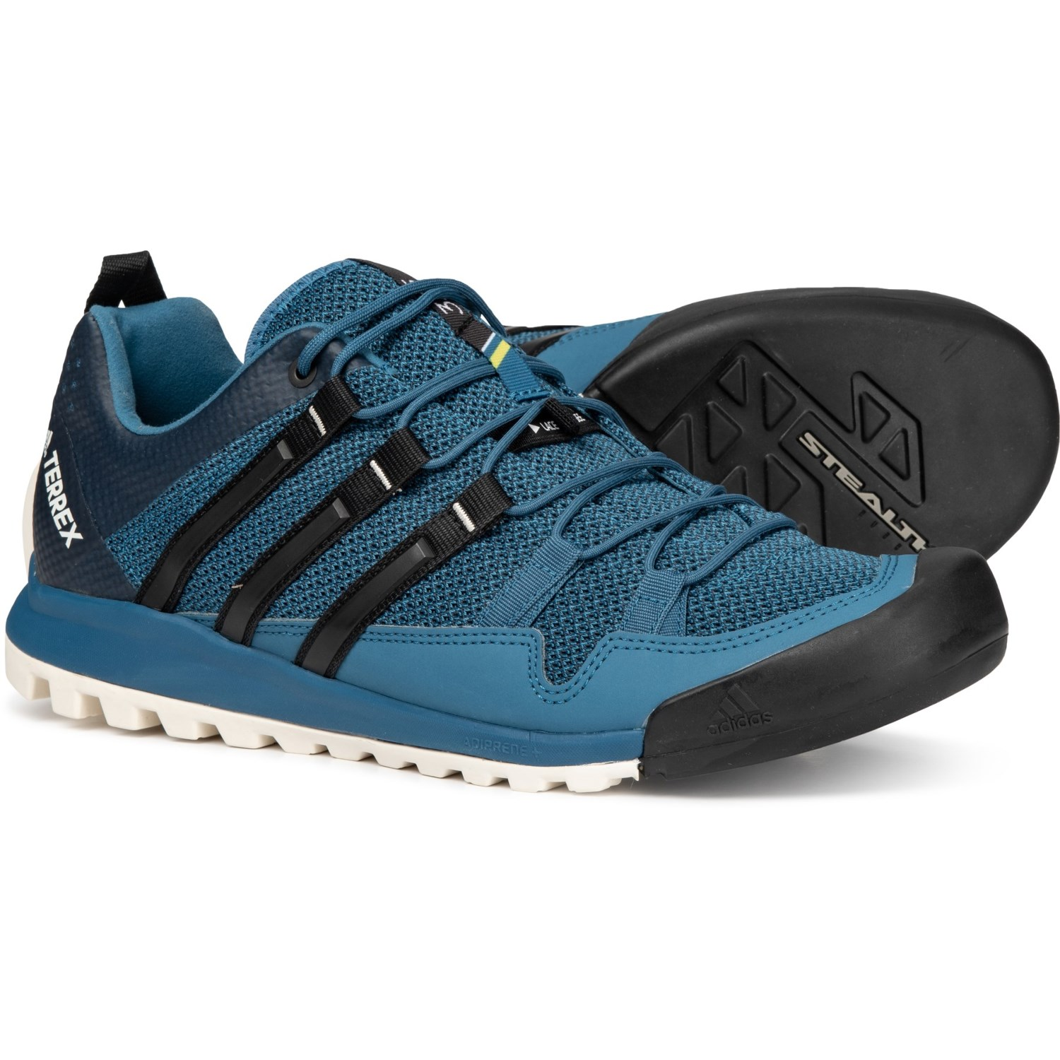 hot sale online 7a5ad c060b adidas Terrex Solo Approach Shoes (For Men) in Core Blue Core Black