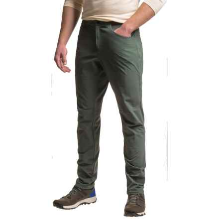 adidas Terrex Solo Pants - UPF 50+ (For Men) in Utility Ivy - Closeouts
