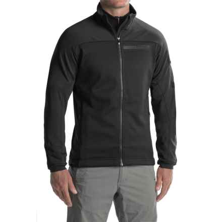 adidas Terrex Stockhorn Fleece Jacket (For Men) in Black - Closeouts