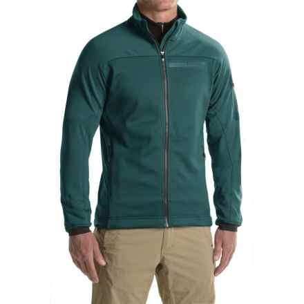 adidas Terrex Stockhorn Fleece Jacket (For Men) in Utility Green - Closeouts