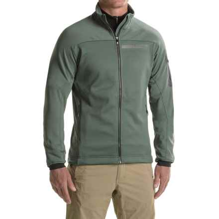 adidas Terrex Stockhorn Fleece Jacket (For Men) in Utility Ivy - Closeouts