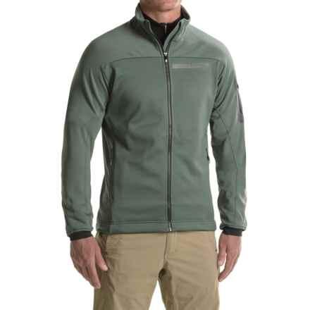 adidas Terrex Stockhorn Fleece Jacket (For Men) in Utility Ivy - Closeouts