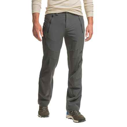 adidas Terrex Swift All-Season Pants - Soft Shell (For Men) in Utility Black - Closeouts