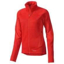 Adidas Terrex Swift Fleece Jacket (For Women) in Hi Res Red - Closeouts