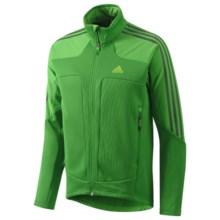 Adidas Terrex Swift Jacket - Fleece Lining, Full Zip (For Men) in Real Green - Closeouts