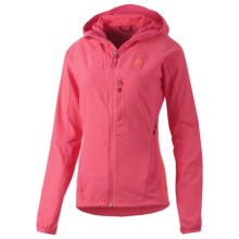 Adidas Terrex Swift Mountain Summer Jacket - Wind Resistant (For Women) in Bahia Pink - Closeouts