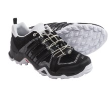 adidas Terrex Swift R Breeze Trail Running Shoes (For Men) in Black/White/Black - Closeouts