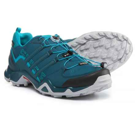 adidas Terrex Swift R Gore-Tex® XCR® Trail Running Shoes - Waterproof (For Men) in Blue Night/Blue Night/Mystery Petrol - Closeouts