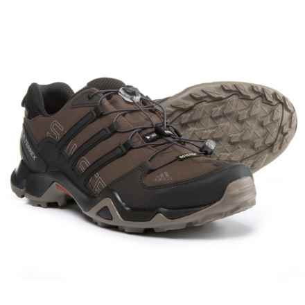 adidas Terrex Swift R Gore-Tex® XCR® Trail Running Shoes - Waterproof (For Men) in Brown/Black/Simple Brown - Closeouts