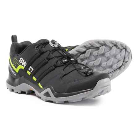 adidas Terrex Swift R2 Hiking Shoes (For Men) in Carbon/Black/Grey Three - Closeouts