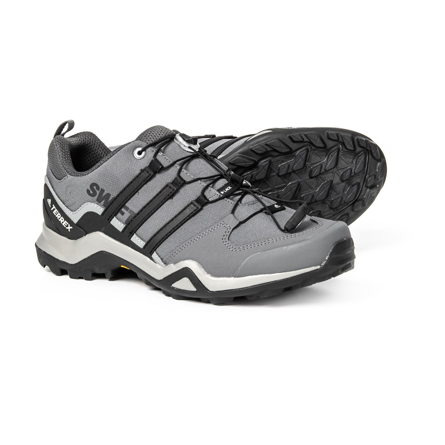 adidas Terrex Swift R2 Hiking Shoes (For Men) in Grey Three Black  552615135