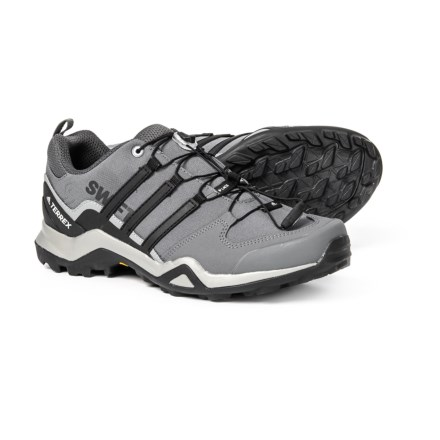 14a33377e adidas Terrex Swift R2 Hiking Shoes (For Men) in Grey Three Black