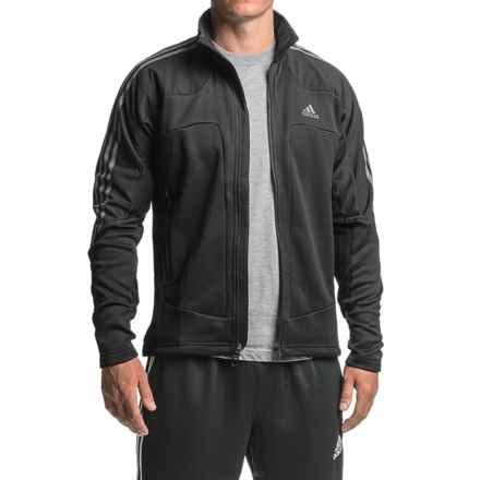 adidas Terrex Swift Soft Fleece Jacket (For Men) in Black - Closeouts