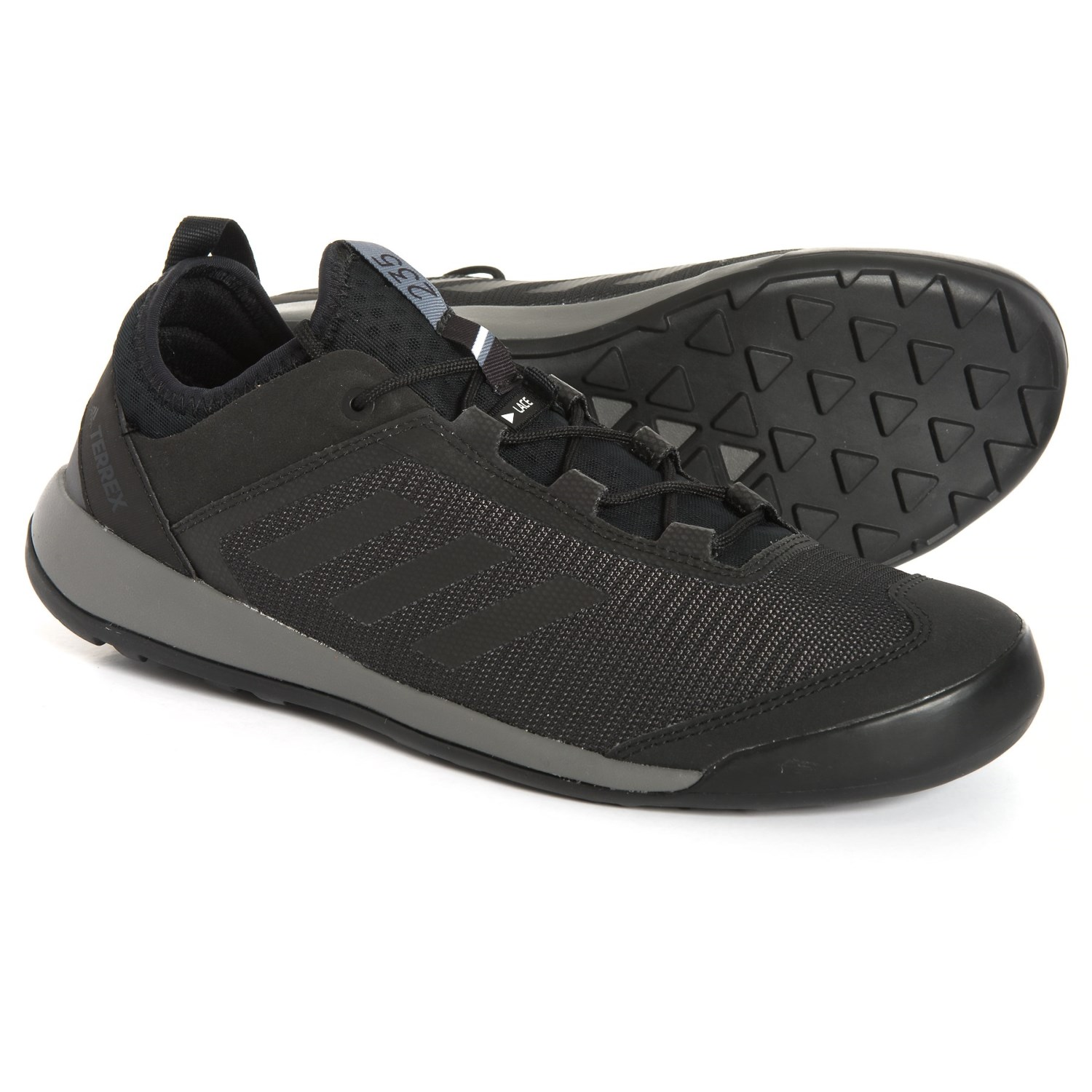 finest selection 2a4be dfdb6 adidas Terrex Swift Solo Hiking Shoes (For Men) in Utility Black Black