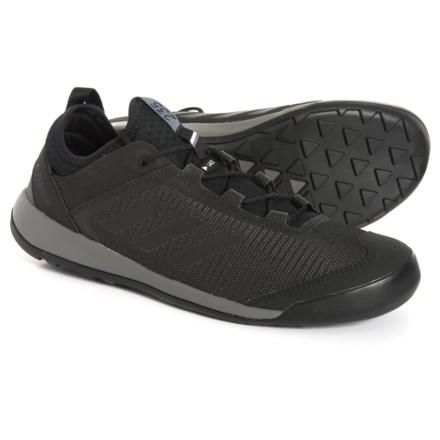 ec433d9e2 adidas Terrex Swift Solo Hiking Shoes (For Men) in Utility Black Black