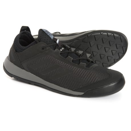 be3f118e311ba adidas Terrex Swift Solo Hiking Shoes (For Men) in Utility Black Black
