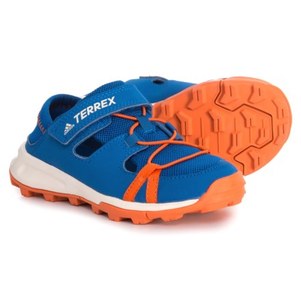 adidas Terrex Tivid Shandal CF Water Shoes (For Little and Big Boys) in Blue e188a6bf836