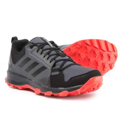 adidas Terrex Tracerocker Gore-Tex® Trail Running Shoes - Waterproof (For Men) in Orange/Black/Carbon - Closeouts