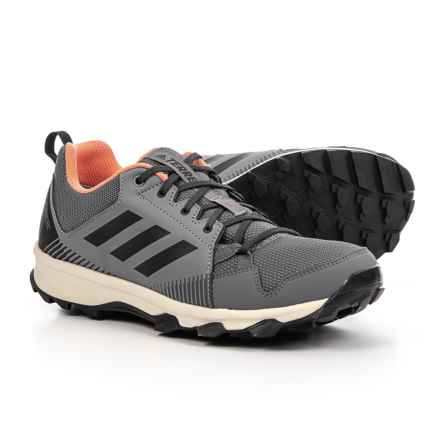 adidas Terrex Tracerocker Gore-Tex® Trail Running Shoes - Waterproof (For Women) in Grey Three/Carbon/Chalk Coral - Closeouts