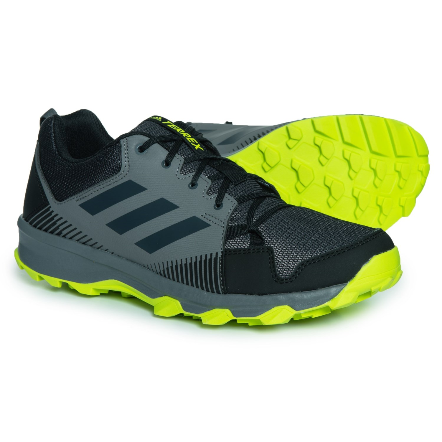 d76843715be adidas Terrex Tracerocker Trail Running Shoes (For Men) in Black Carbon Grey