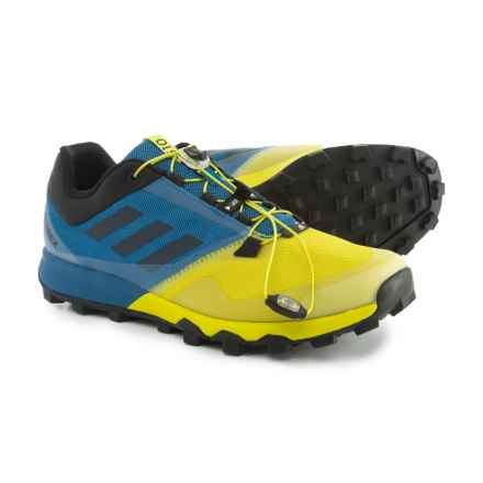 adidas Terrex Trailmaker Trail Running Shoes (For Men) in Core Blue/Black/Unity Lime - Closeouts
